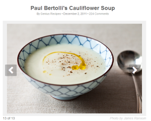 cauliflower soup pic